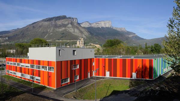 Pharmacie et Zone logistique du Centre Hospitalier Alpes-Isère à St Egrève