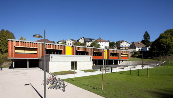Groupe scolaire Le Turluru à Hauteville Lompnes