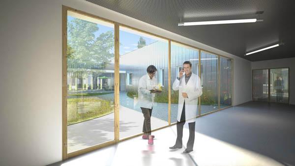 Plateforme logistique au Centre Hospitalier Le Vinatier