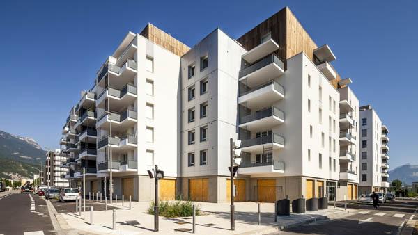 184 logements à Echirolles