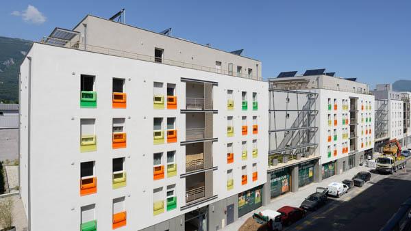 74 logements dans le quartier Bouchayer Viallet à Grenoble