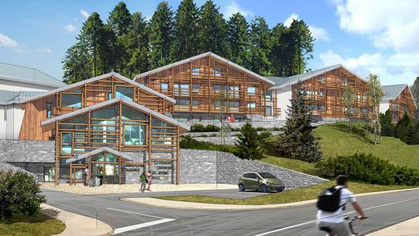 Résidence hôtelière et touristique à Megève