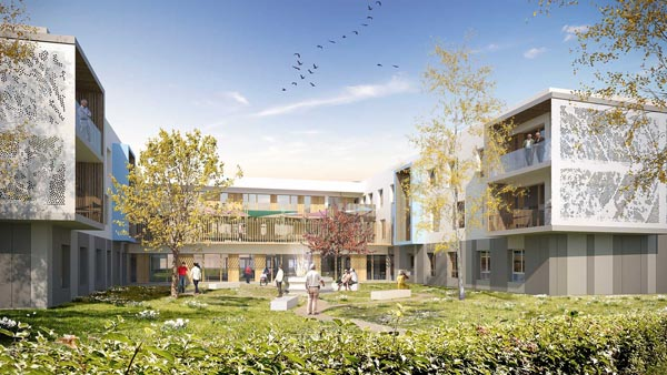 EHPAD 84 lits à Saint-Etienne-de-St-Geoirs